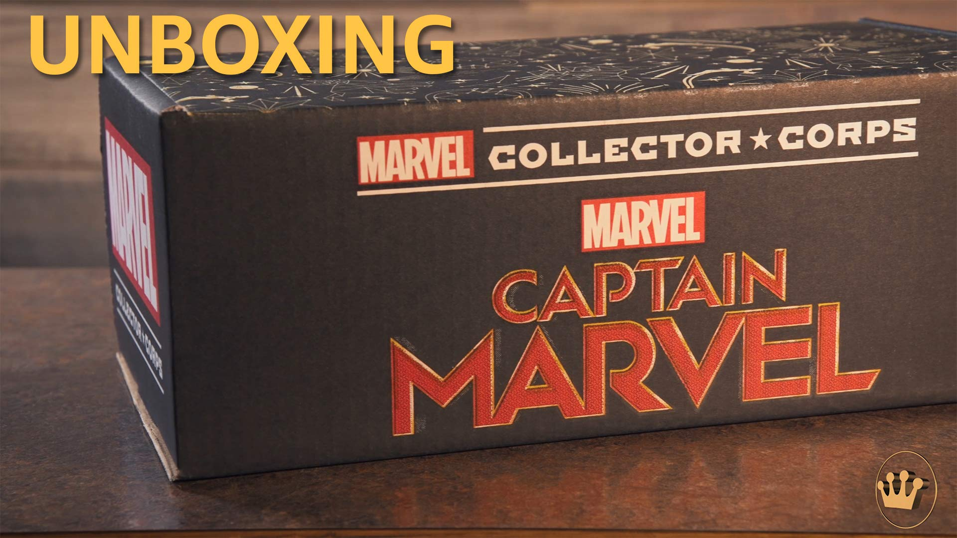 Unboxing of 2019 March's theme: Captain Marvel