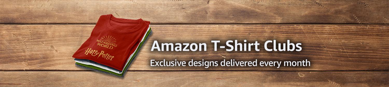 Amazon T-Shirt Clubs
