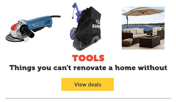Garage Sale - Tools & Garden