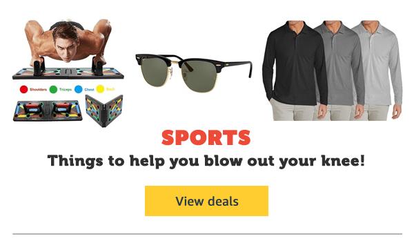 Garage Sale - Sports