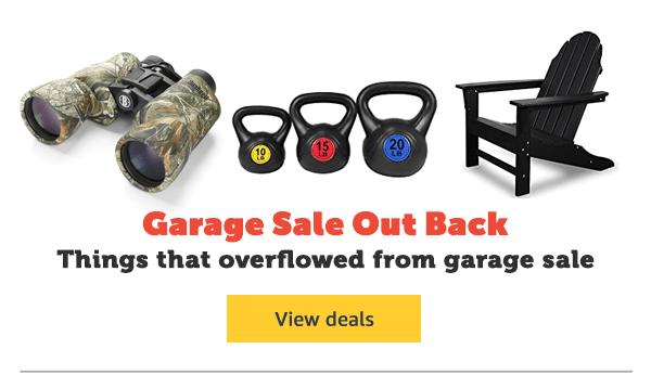 Garage Sale Out Back