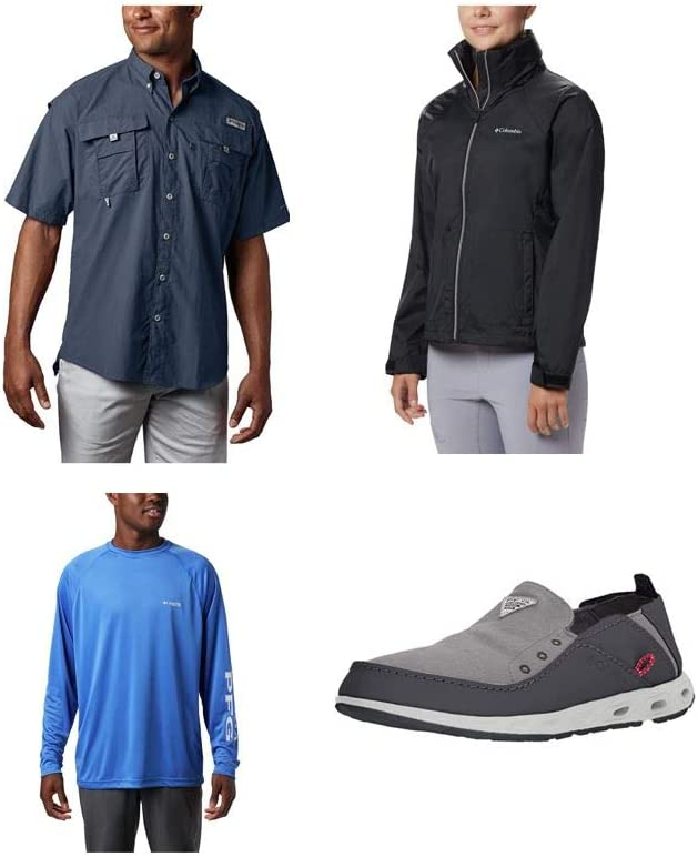 Save up to 40% on select styles from Columbia apparel and shoes