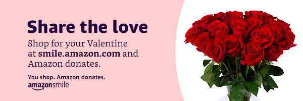 Will you be our Valentine? Shop at smile.amazon.com/ch/38-2044957 and AmazonSmile donates 0.5% to Salem Bible Church.