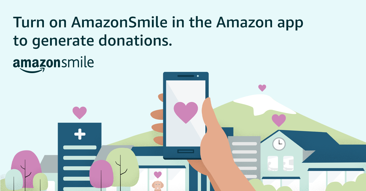 AmazonSmile is now available in the Amazon Shopping app