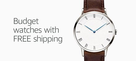 Budget watches with free shipping