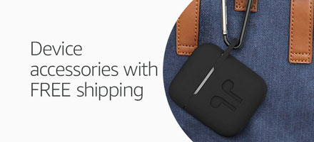 Device accessories with free shipping