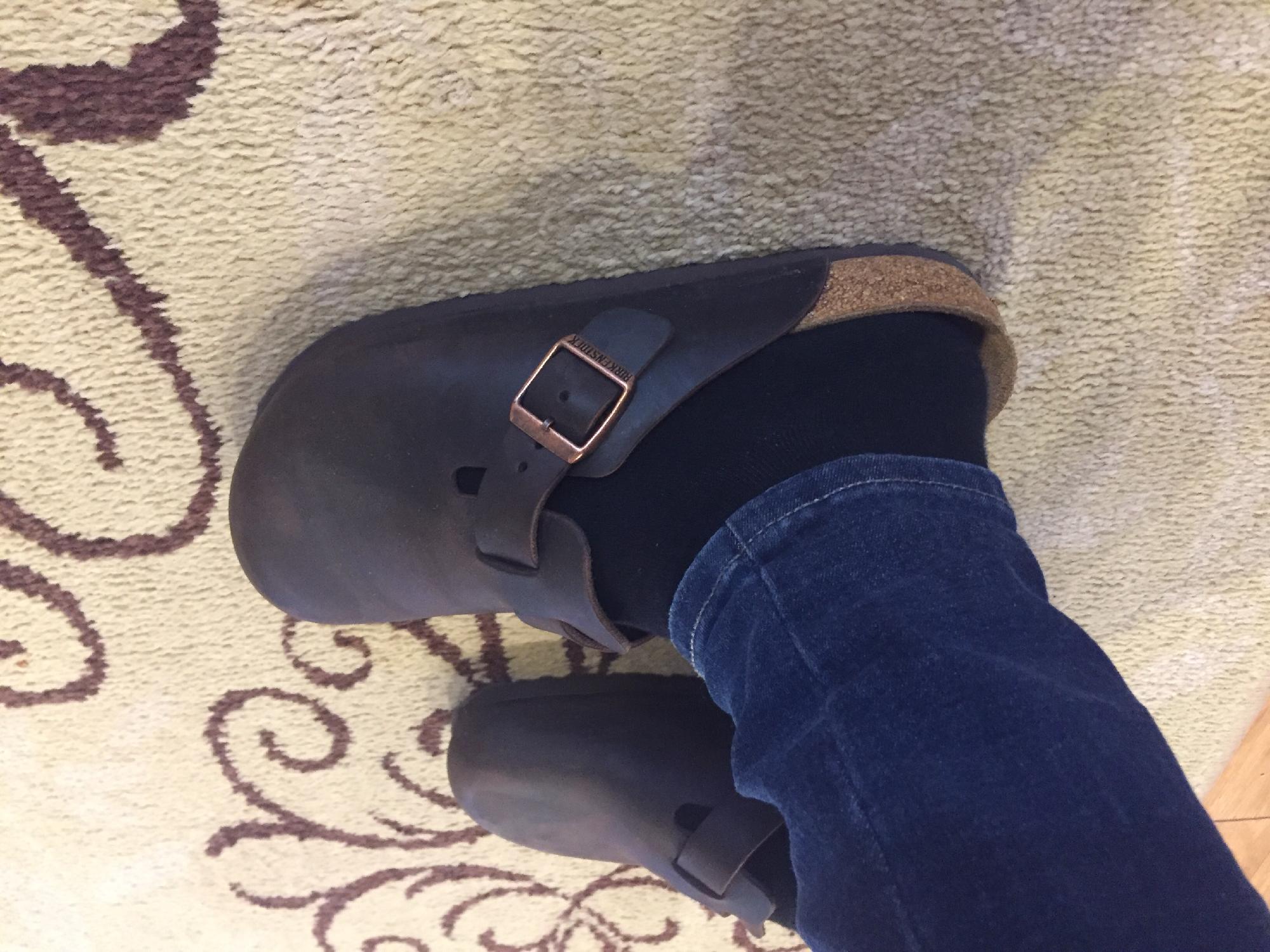 eb87d2e06777 Birkenstock Boston Soft Footbed (Unisex) at Zappos.com