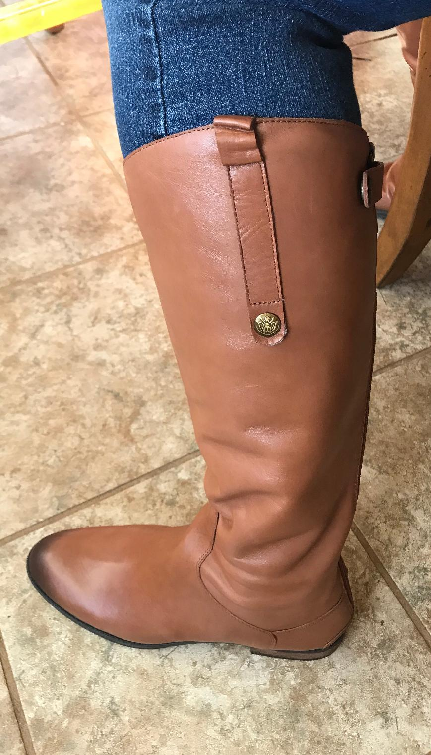 62e480f8ddc1 Sam Edelman Penny Leather Riding Boot Reviews