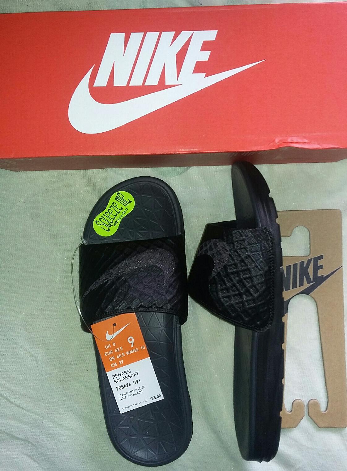 new arrival 3ec07 52ed4 Nike Benassi Solarsoft Slide 2 at Zappos.com
