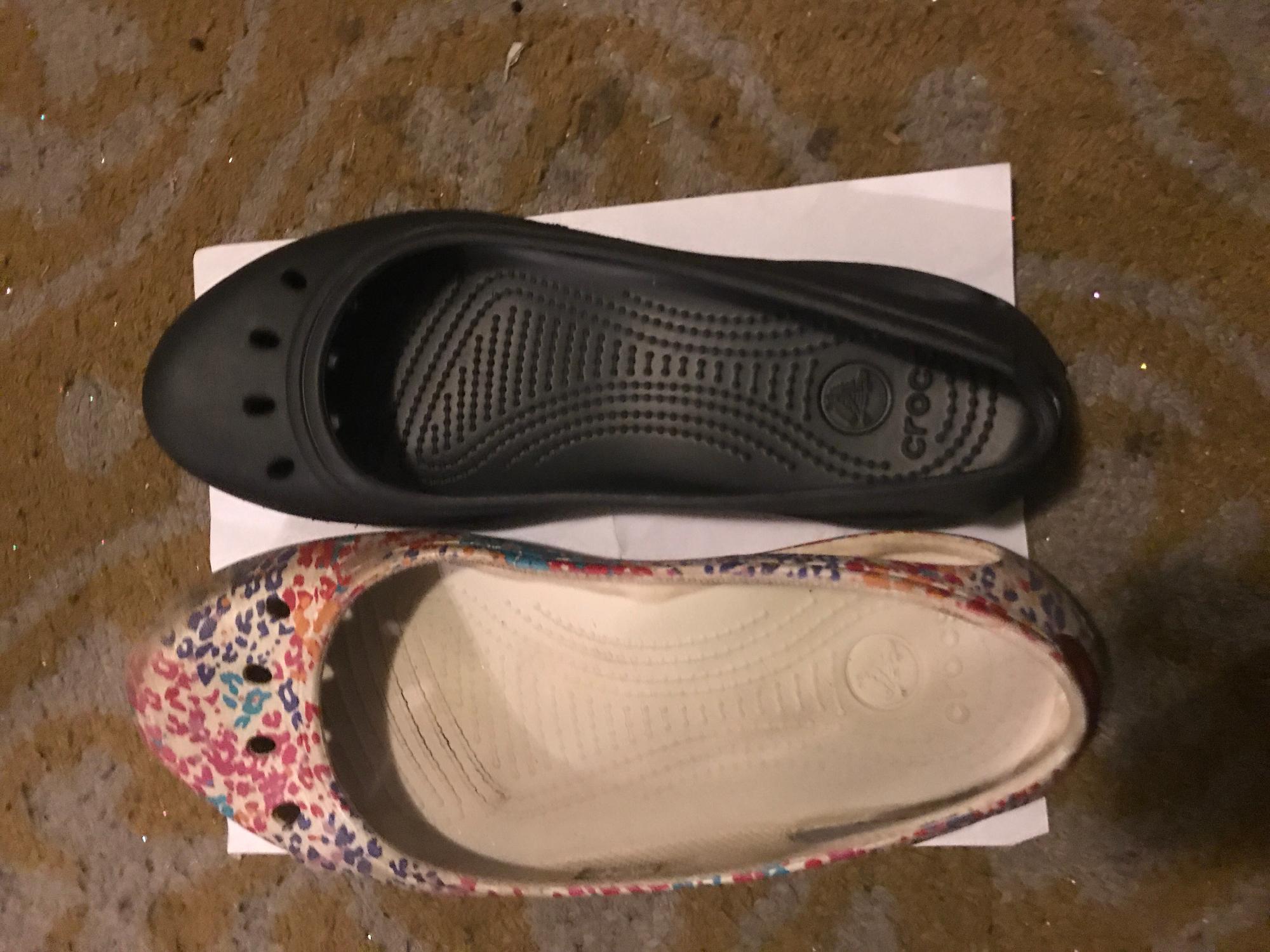 e81ddc532e8 Crocs Kadee Work Flat Reviews