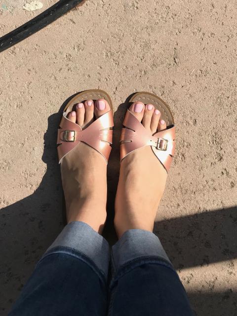 Salt Water Sandal by Hoy Shoes Classic Slide (Big KidAdult