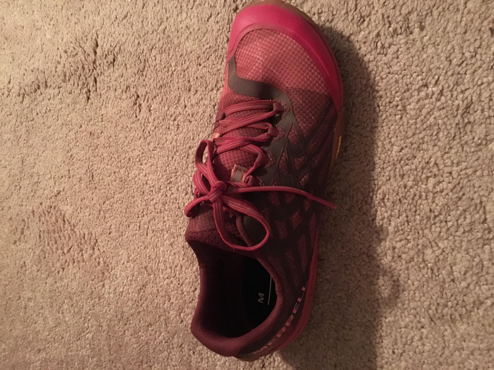 Merrell Trail Glove 4 Women's Shoes Persian Red   Barefoot