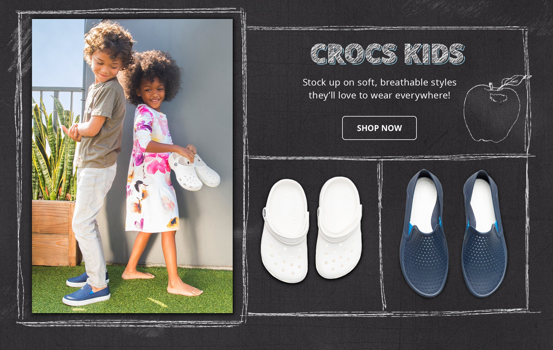 Shop Crocs Kids
