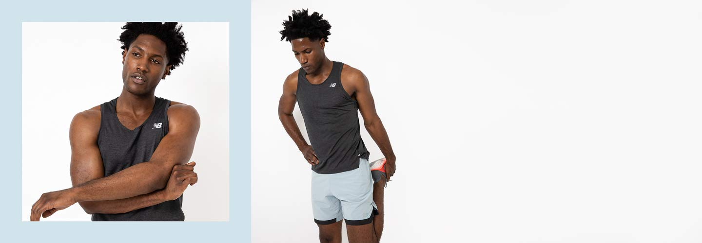 Men's Athletic Gear featuring running and training styles.
