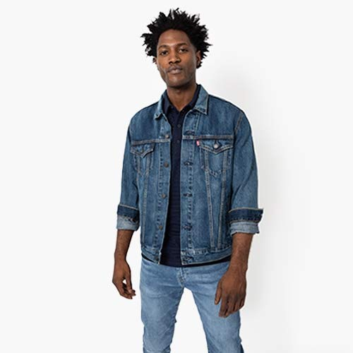 Men's Denim Shop featuring jackets and jeans.