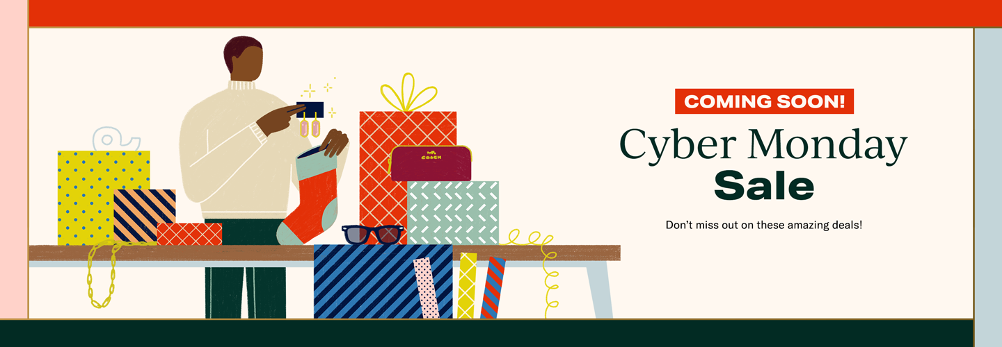 Coming Soon! Cyber Monday Sale: Don't miss out on these amazing deals!