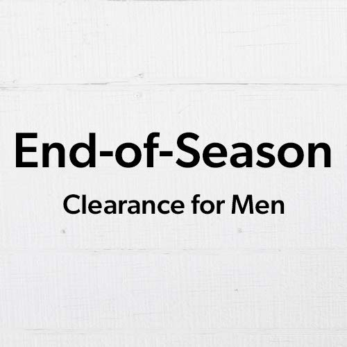 End-of-Season Clearance for Men