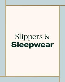 Slippers & Sleepwear