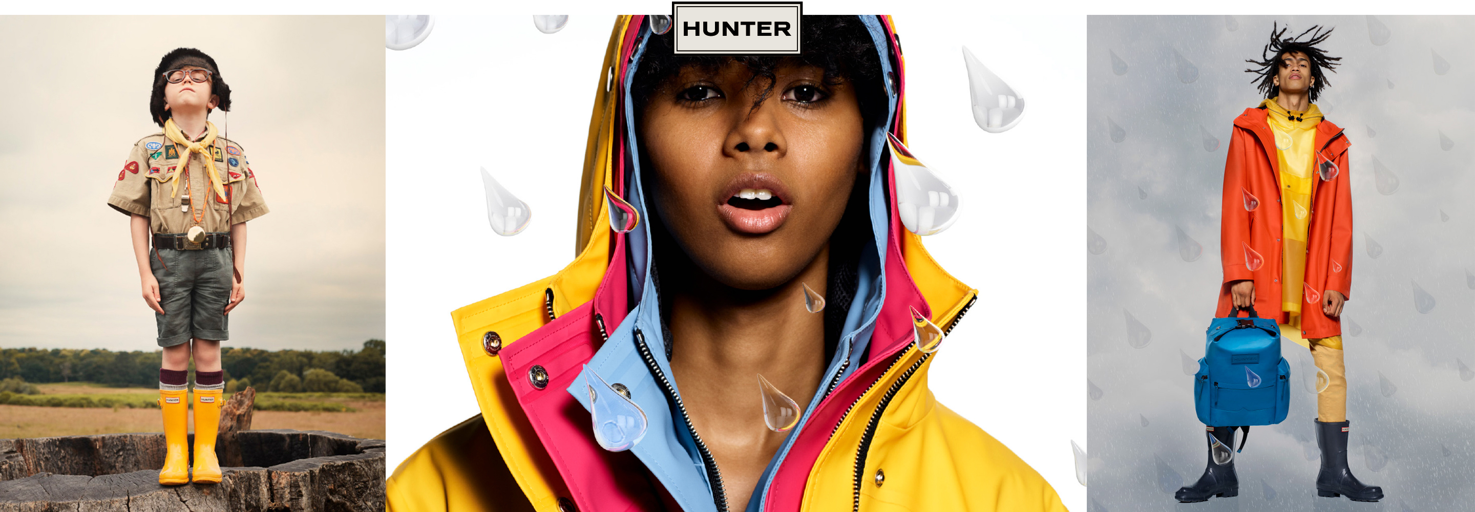 Shop Hunter Boots and Clothing