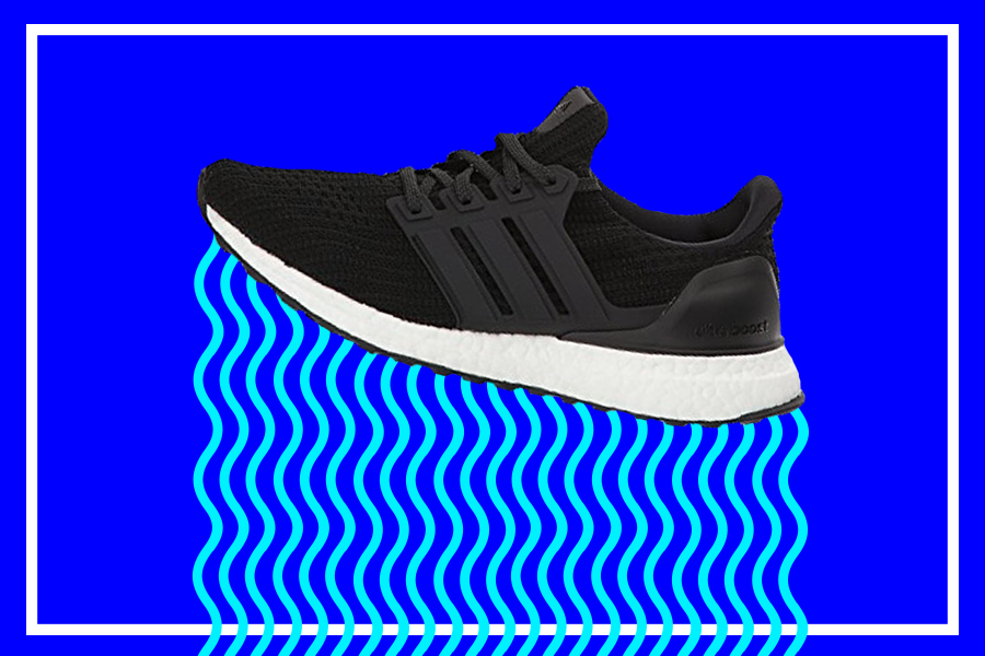 Running Shoe Series: adidas UltraBOOST Infographic