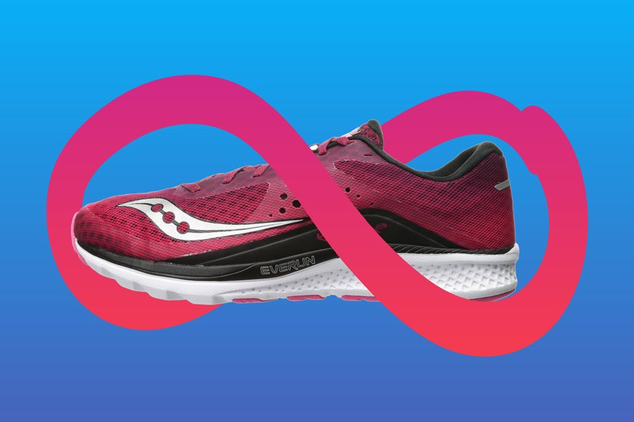 Saucony Everun Technology Infographic
