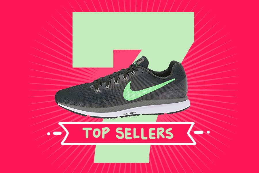 Article about Zappos's top selling running shoe styles.