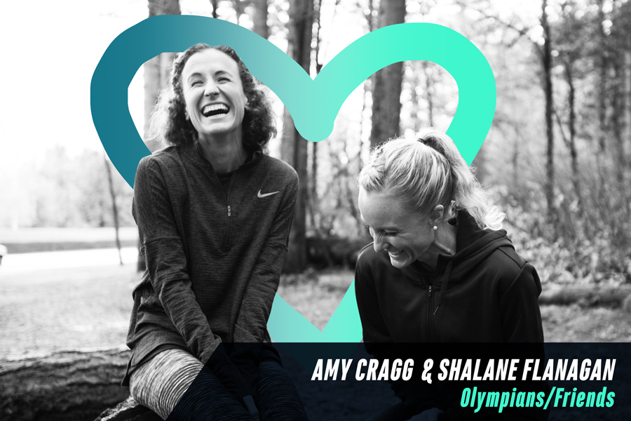 Shalane Flanagan & Amy Cragg: Olympians & Friends