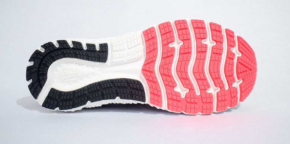 buy popular 6fabd 71b65 It also gives dependable surface grip. On the forefoot is a blown rubber  compound which offers added cushioning, flexibility and traction.