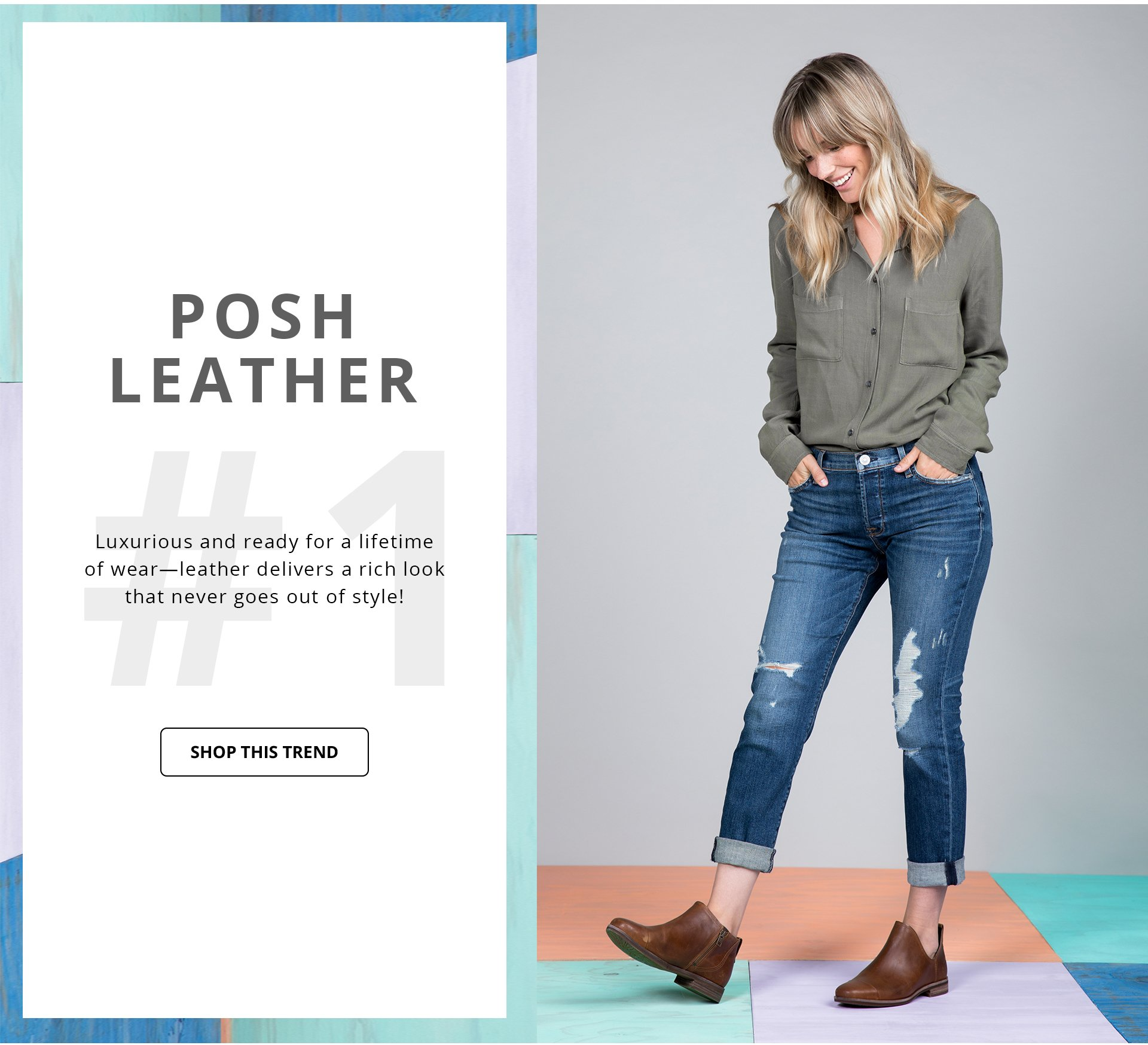 Shop Posh Leather Trend