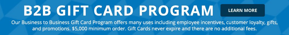 Link to Review Info on the B2B Zappos Gift Card Program