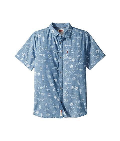 Image of links to boys button up shirts.