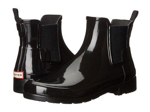 Chelsea Black Rain Boots