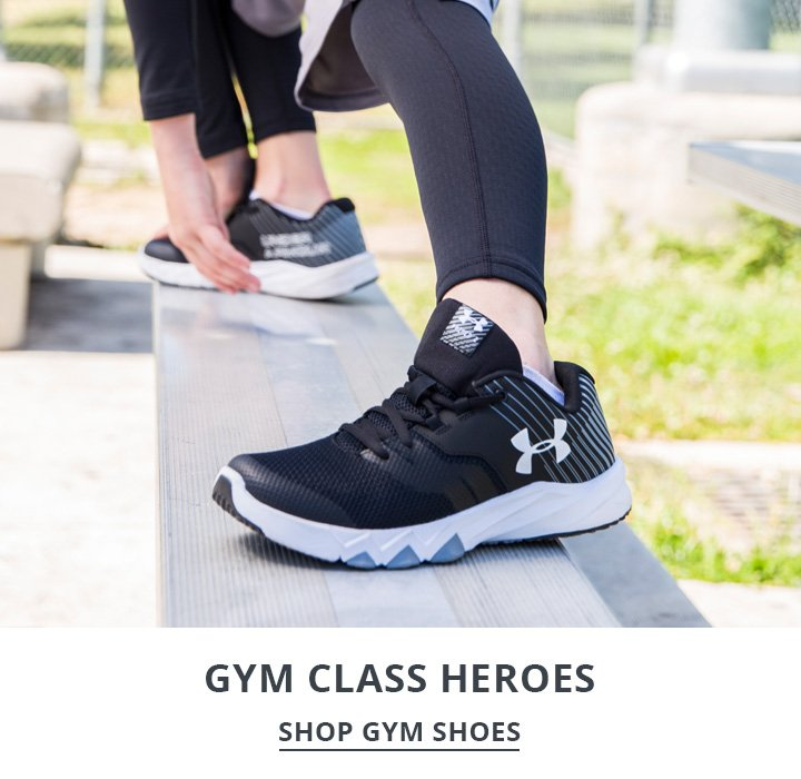 image of boy wearing gym shoes