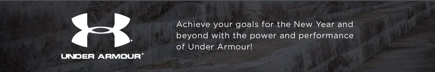 Under Armour: Achieve your goals in high-performance clothing, shoes, and accessories!