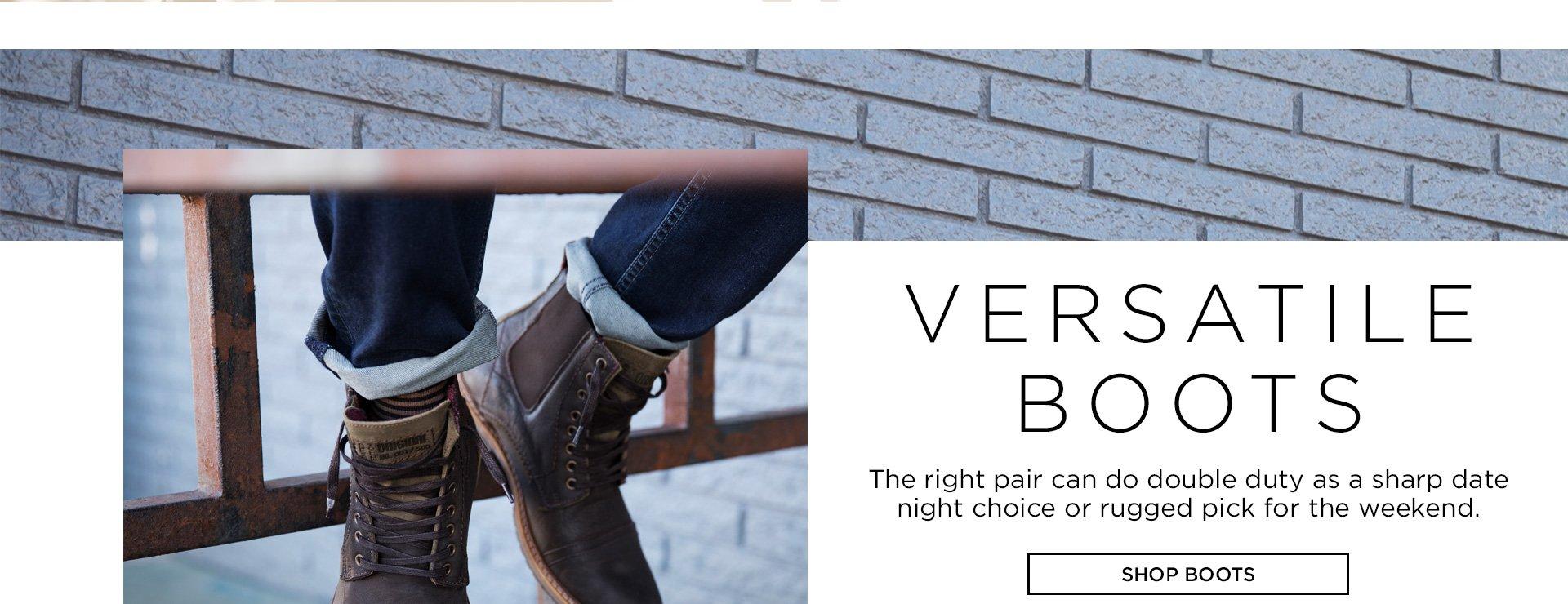 Versatile Boots