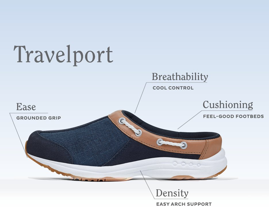 Image of a pair of Travelport Easy Spirit Shoes