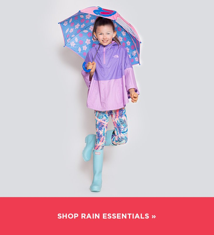 Image of a girl in a rain suit