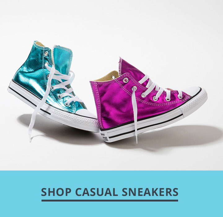 Image of Metallic converse shoes. Shop Casual Sneakers.