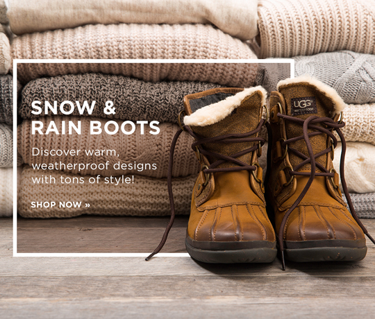 Hero-1-Snow-and-Rain-Boots-1-22-2017 Discover warm, weatherproof designs with tons of style!