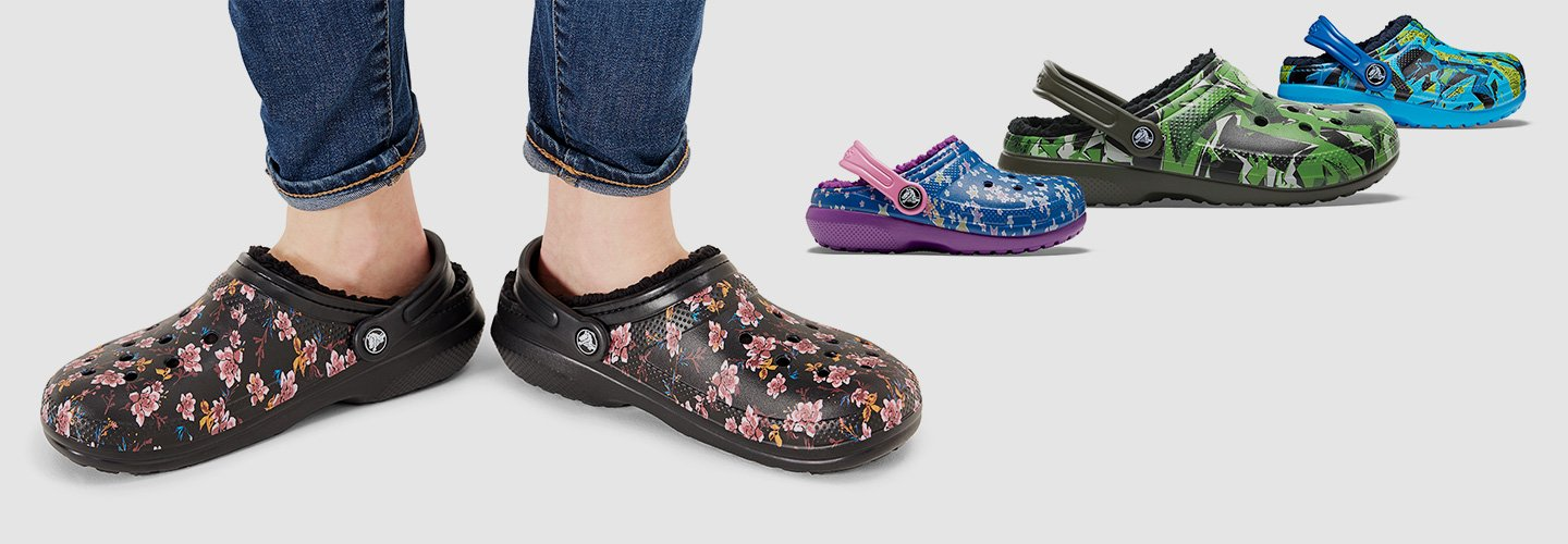Image link to shop Crocs shoes
