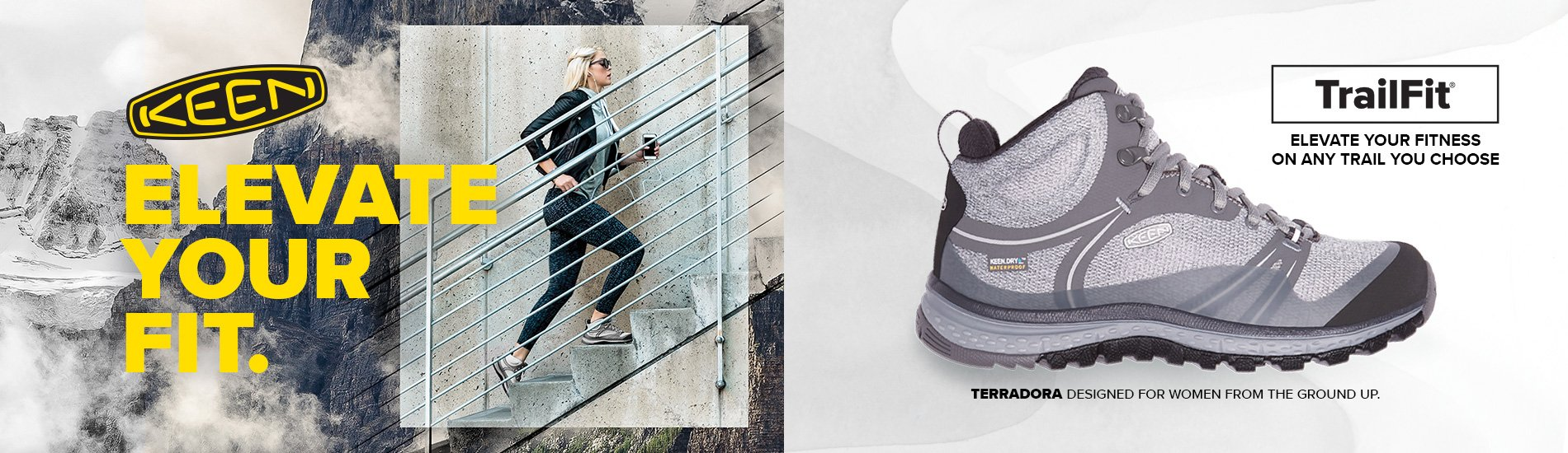 CoOp-Keen-2-19-17 Keen. Elevate your fit. Shop Terradora.
