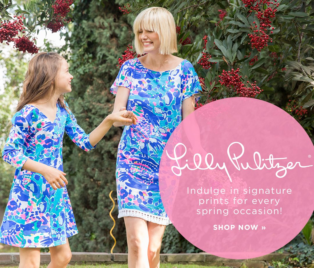 Lilly Pulitzer. Indulge in signature prints for every spring occasion! Shop Now.
