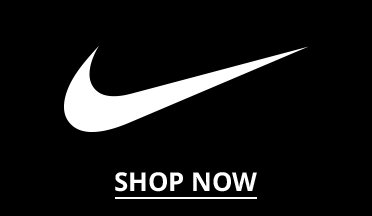 Image of the Nike Logo. Shop Now.
