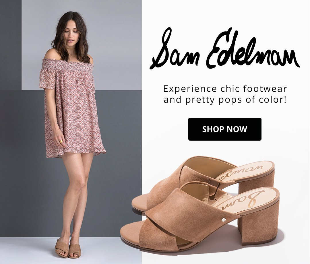 Sam Edelman. Experience chic footwear and pretty pops of color! Shop Now.