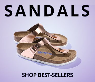 Sandals. Shop Best Sellers. Image of a Birkenstock Sandal