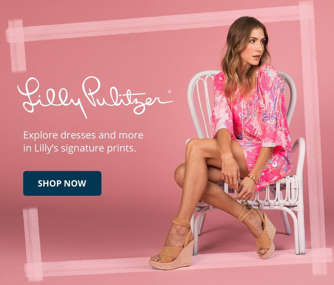 Lilly Pulitzer. Explore dresses and more in Lilly's signature prints. Shop Now