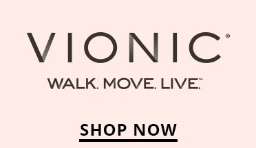 Vionic Logo. Shop Now.