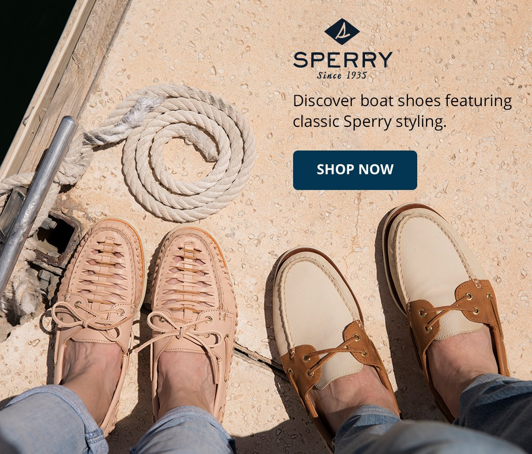 Discover boat shoes featuring classic Sperry styling. Shop now