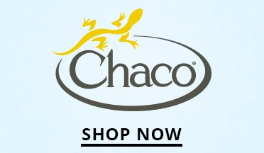 Chaco Logo. Shop Now.