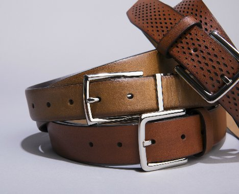 Image of mens belt.
